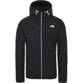 The North Face Zermatt Täysvetoketjullinen Huppari Miehet, tnf black heather